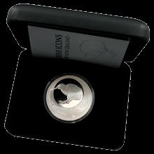 Stříbrná mince Ikony Nového Zélandu 1 Oz Kiwi 2010 Proof