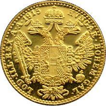 Zlatá investičná minca Dukát Františka Jozefa I. 1915 (novorazba)