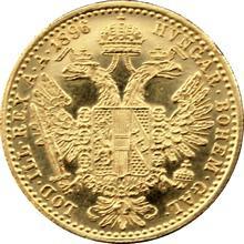 Zlatá mince Dukát Františka Josefa I. 1896