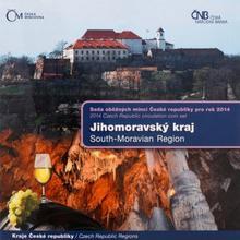 Sada obežných mincí ČR 2014 Jihomoravský kraj Štandard