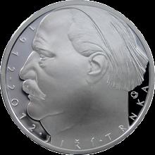 Strieborná minca 500 Kč Jiří Trnka 100. výročie narodenia 2012 Proof