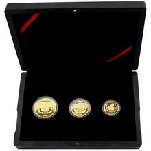 Kolekce Olmékové - Sacerdote sada zlatých mincí 1996 Proof