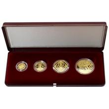 Zlatá minca Sada Koruna Česká 1997 Proof