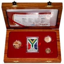 Krugerrand 2014 Výroční sada zlatých mincí 20 let Demokracie Proof