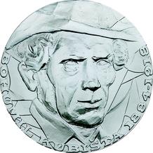 Stříbrná medaile Bohumil Kubišta 2010 Proof