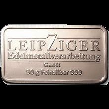 50g LEV Investiční stříbrný slitek