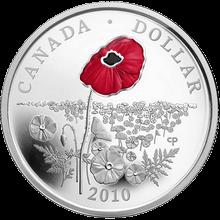 Stříbrná mince Mák 2010 Proof