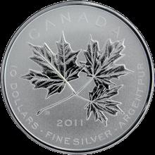Stříbrná mince Maple Leaf Forever 2011 Štandard
