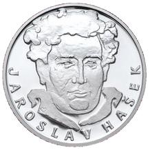 Stříbrná medaile Jaroslav Hašek 2008 Proof