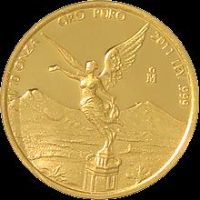 Zlatá investičná minca Mexico Libertad 1/10 Oz