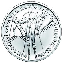 Stříbrná medaile MS v lyžování - Liberec 2009 Proof