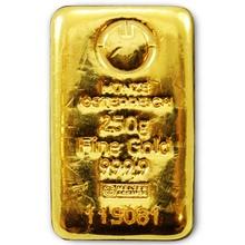 250g Münze Österreich Investiční zlatý slitek