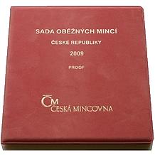 Sada oběžných mincí ČR 2009 Proof