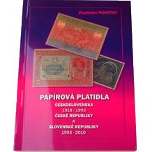 Papírová platidla ČSR 1918 - 1993, ČR a SR 1993 - 2010