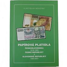 Papírová platidla ČSR 1918 - 1993, ČR a SR 1993 - 2007