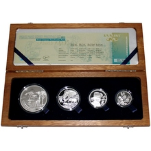 Peace Parks Great Limpopo Exkluzivní sada stříbrných mincí 2011 Proof
