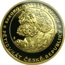 Pětidukát ČR Baroko 2009 Proof