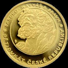 Pětidukát ČR Baroko 2008 Proof