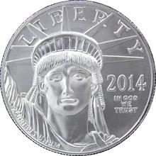 Platinová investiční mince American Eagle 1 Oz
