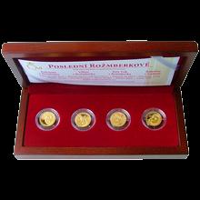 Sada zlatých medailí Poslední Rožmberkové 2011 Proof