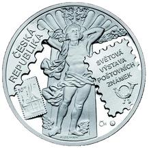 Stříbrná medaile Praga 2008 výstava známek Proof