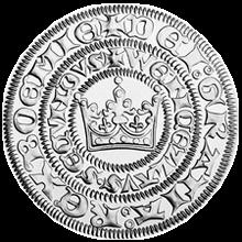 Replika pražského groše z doby Václava II. 2000 Standard