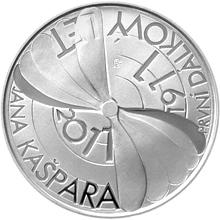 Stříbrná mince 200 Kč První veřejný let Jana Kašpara 100. výročí 2011 Proof