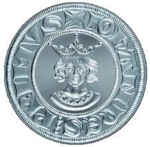 Replika půlgroše Jana Lucemburského 2006 Standard