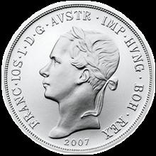 Replika tolaru konvenční měny z roku 1852 Standard 2007