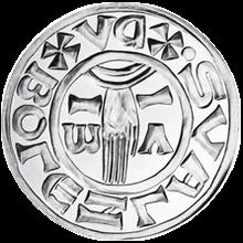 Replika Denáru Boleslava II. 1999 Standard