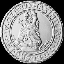 Replika Kutnohorského tolaru Maxmiliána II. 2012 Standard