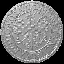 Replika Olomouckého tolaru moravských stavů 2012 Standard