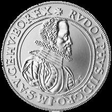 Replika Pražského tolaru Rudolfa II. 2012 Standard