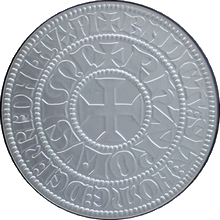Replika tlustého tourského groše Karla IV. 1998 Standard