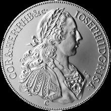Replika tolaru Josefa II. 2012 Standard