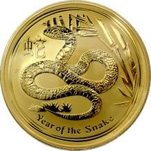 Zlatá investiční mince Year of the Snake Rok Hada Lunární 1 Kg 2013
