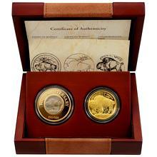 Zlatá mince American Buffalo 1oz 100. výročí Buffalo 5 cent 2013 Proof