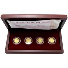 Sada 4 zlatých medailí Šlechtický rod Vartenberků 2012 Proof