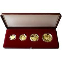 Zlatá minca Sada Koruna Česká 1996 Proof