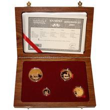 Krugerrand 2004 Exkluzivní sada zlatých mincí Proof