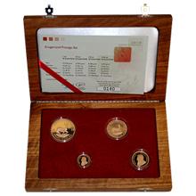 Krugerrand 2010 Exkluzivní sada zlatých mincí Proof