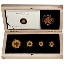 Maple Leaf sada investičných mincí 100. výročie Kanadskej královskej rafinérie 2011 Proof