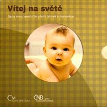Sada oběžných mincí ČR 2011 Narození dítěte