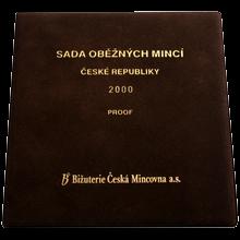 Sada oběžných mincí ČR 2000 Proof
