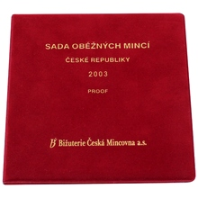 Sada oběžných mincí 2003 Proof/semiš