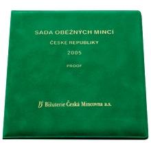 Sada oběžných mincí 2005 Proof/semiš