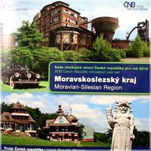 Sada oběžných mincí ČR 2012 Moravskoslezský kraj Standard