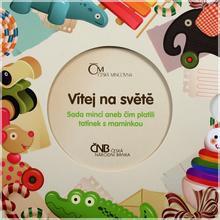 Sada oběžných mincí ČR 2012 Narození dítěte Standard