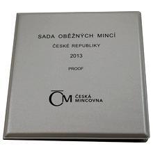 Sada oběžných mincí ČR 2013 Proof/stříbrný obal