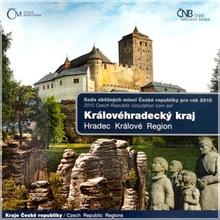 Sada oběžných mincí ČR 2015 Královéhradecký kraj Standard